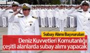 Deniz Kuvvetleri Komutanlığı Muvazzaf Subay Başvuru Şartları