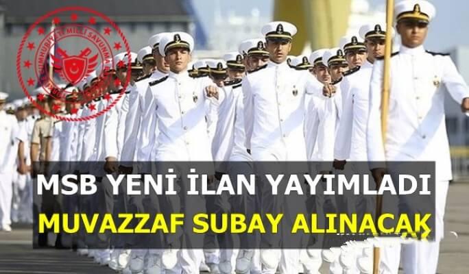 Deniz Kuvvetleri Komutanlığı Muvazzaf Subay Seçim Aşamaları